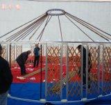 Barraca Mongolian ao ar livre do evento do partido da barraca de 15 Sqm Yurt