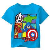 Tシャツの設計および印刷の男の子は急にTシャツにスリーブを付ける