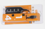 Концентраторы USB 2.0 с 4 портами Черного цвета