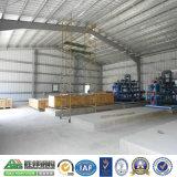 Taller prefabricado de la estructura de acero de la alta calidad ligera