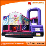 Salto de inflables castillo inflable/Moonwalk bouncer para niños (T3-717)