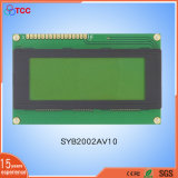 20X4 LCD Character Modulates with Stn Yellow-Green/Blue and LED Backlight