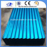 색깔에 의하여 입히는 (Prepainted) 직류 전기를 통한 물결 모양 루핑 장