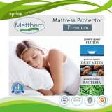 100%年ポリエステルマットレスの保護装置、卸売の安いホテルによって合われるマットレスのカバーの