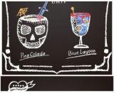 Het Bord van het menu voor de Winkel van de Koffie