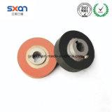 Rueda resistente da alta temperatura especial del silicón de la troqueladora de la máquina caliente del traspaso térmico