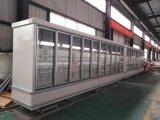 Design personalizado 110V/60Hz Porta de vidro do Chiller de Visualização Vertical