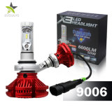 Nuovo faro automatico dell'automobile del faro 6000lm 50W 9012 H4 H7 LED di Fanless X3 LED