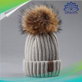 Sombrero de Bluetooth con los sombreros hechos punto lindos de la música de Bluetooth del auricular