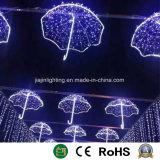 Het Licht van LEIDENE Kerstmis van het Motief voor de Decoratie van de Straat