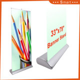 China Fabricante Custom Mini arregaçar Banners base larga puxe os suportes de Banner