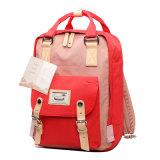 Мешок школы Backpack компьтер-книжки компьютера Backpack холстины Backpack Macaroon классицистический Unisex