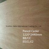 compensato del cedro di matita di 18mm per mobilia con il compensato dell'annuncio pubblicitario del grado di BB/CC