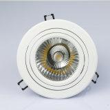 クリー族チップ価格LEDの穂軸のDownlight 25W 35Wの高い発電の引込められた調節可能なDimmableスクエアか円形の天井LED Downlightの据え付け品
