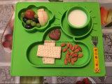 아이를 위한 Anti-Slip 테이블 실리콘고무 아기 Placemat