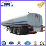 Del combustible del transporte del tanque acoplado semi
