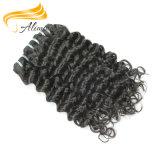 Extensão indiana barata do cabelo do Virgin do cabelo indiano superior não processado