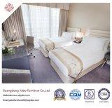 Mobília do quarto do hotel da alta qualidade com a base gêmea de madeira (YB-D-36)