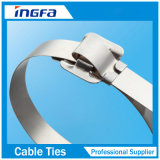 tipo Atar-Liberable de 304 316 epóxidos del acero inoxidable/del cable revestido de nylon
