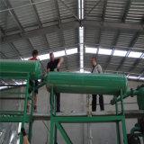 Máquina de reciclaje de aceite de motor usado y residuos de aceite de motor Decoloring maquinaria regeneración