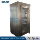Chuveiro de ar em aço inoxidável para quarto Limpo HEPA