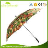 Зонтик гольфа картины двойного слоя маскировочной ткани высокого качества изготовленный на заказ