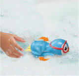 De dierlijke Grappige Vorm beëindigt het Zwemmende Stuk speelgoed van het Bad van de Pinguïn voor Baby
