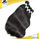 高品質のブラジルの人間の毛髪、加工されていない毛の拡張