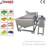 Líquido de limpeza do vegetal da máquina da arruela da fruta do aço inoxidável