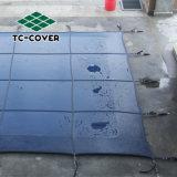 Руководство по ремонту Multi-Usage Manhol алюминиевой крышки безопасности строительства против ультрафиолетового излучения с пружиной и замки мате для бассейнов и джакузи защиты семьи