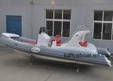 Liya 10persona patrulla militar botes inflables rígidos