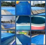 Dekking van de Pool van de Dekking van de Pool van de Dekking van de Bel van het Zwembad van de douane de Plastic Blauwe Thermische Zonne