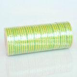 Nastro elettrico dell'isolamento del PVC di protezione morbida a temperatura elevata giallo verde della pellicola