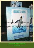 Gaveta de gelo com o logotipo personalizado