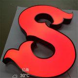 3D LED che fa pubblicità al segno su ordinazione della Manica del segno acrilico luminoso delle lettere