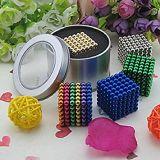 Esfera colorida das esferas magnéticas neo do cubo 5mm