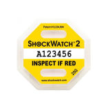 Indicateur de choc Shockwatch chaud G Shakeproof capteurs