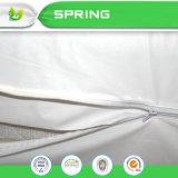 Impermeabilizar la cubierta de colchón plástica hipoalérgica Zippered del PVC del vinilo libremente