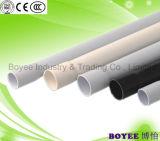 Cableado eléctrico Conduit de PVC negro tubo
