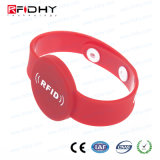 Braccialetto impermeabile riutilizzabile del PVC RFID per ginnastica/randello