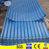 Gi PPGI полного жесткого гофрированный оцинкованный цвет краски покрытие стального листа крыши