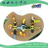 Los animales del océano de niños juegos de acero galvanizado con diapositiva cilíndricos de doble capa (HG-9802)