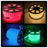 세륨 다색 LED 밧줄 빛 11mm LED 밧줄 빛 온난한 공정한 판단 220V