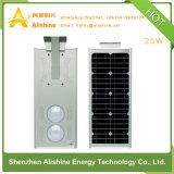 réverbère solaire de 25W DEL 3 ans de garantie avec du ce certifié