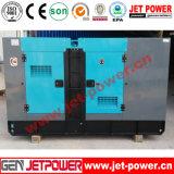 40kw Janelas Insonorizadas gerador a diesel com duas rodas do reboque gerador eléctrico