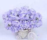 Künstlicher Hydrangea-Vasen-Hochzeits-Blumenstrauss-Silk künstliche Knickentehydrangea-Vorbereitungen