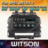 Opel Astra J를 위한 Witson Windows Radio Stereo DVD Player