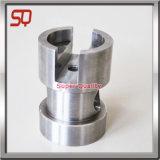Parte del tornio, parte di giro di CNC, pezzo di precisione con alluminio