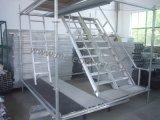 Heißer Verkauf, der Vielzweckgemeinsame Aluminiumstrichleiter faltet