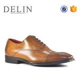 Хорошее качество мужчин кожаные туфли с резиновая подошва